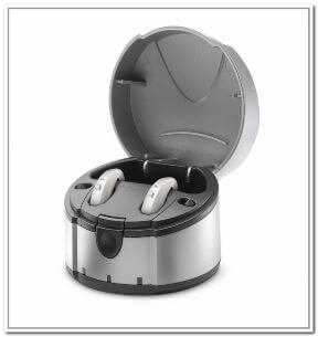 Rechargeable BTE hearing aids